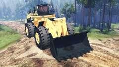 Caterpillar 994F para Spin Tires