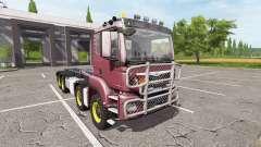 MAN TGS 8x8 hooklift v2.0 para Farming Simulator 2017