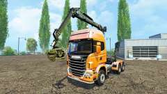Scania R730 forest