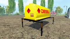 El tanque de combustible