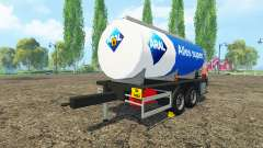 Combustible remolque de Aral para Farming Simulator 2015