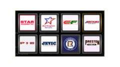 Logotipos de la compañía de Estados unidos