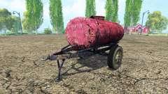 Remolque del tanque de combustible