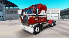 La piel de Billie Joe en el tractor Kenworth K10