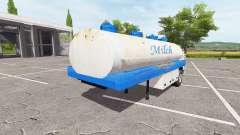 El semirremolque tanque para Farming Simulator 2017