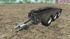 Krampe remolque chasis para Farming Simulator 2015