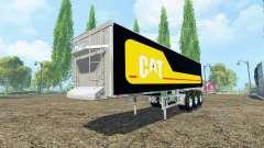 Kroger Agroliner SRB3-35 Caterpillar chrome