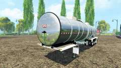 Semitrailer tanque para Farming Simulator 2015