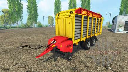 Veenhuis Combi 2000 para Farming Simulator 2015