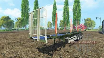 El registro de semirremolque Fliegl para Farming Simulator 2015