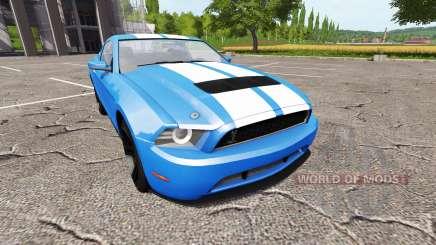 Ford Mustang Shelby GT v1.1 para Farming Simulator 2017