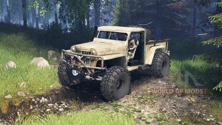 Willys Pickup Crawler 1960 v2.1.4 para Spin Tires