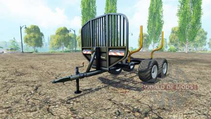 La madera remolque v0.9.1 para Farming Simulator 2015
