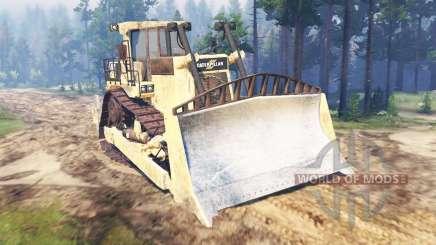 Caterpillar D9 para Spin Tires