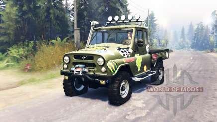 UAZ 2315 para Spin Tires