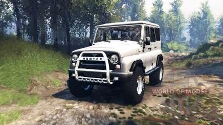 UAZ 315195 hunter v3.0 para Spin Tires