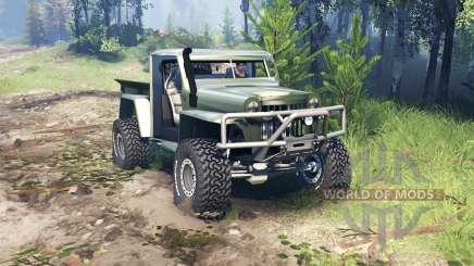 Willys Pickup Crawler 1960 v1.8.5 para Spin Tires