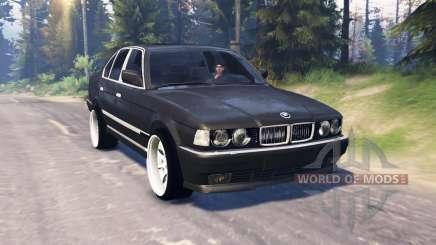 BMW 750Li (E38) v5.0 para Spin Tires