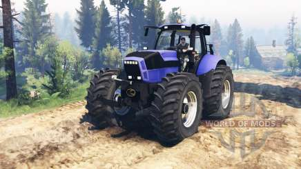 Deutz-Fahr Agrotron X 720 v2.0 para Spin Tires