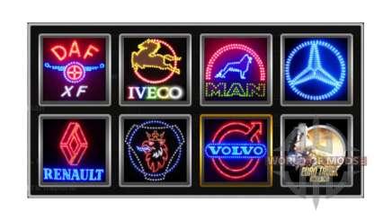 Los logotipos de la empresa v1.2 para Euro Truck Simulator 2