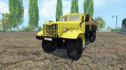 Kraz 214 para Farming Simulator 2015
