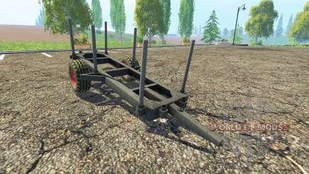 La madera de remolque para Farming Simulator 2015