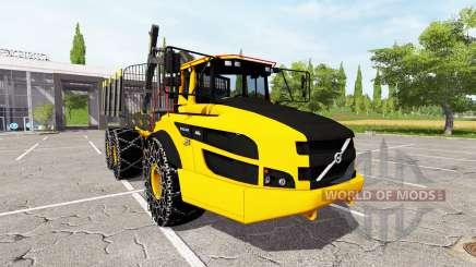 Volvo A40G forwarder v2.0 para Farming Simulator 2017