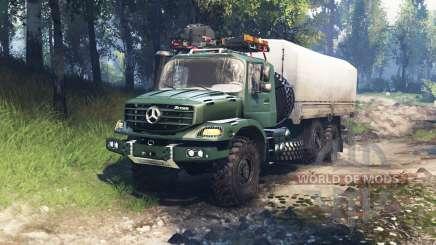 Mercedes-Benz Zetros 2733 A v3.0 para Spin Tires