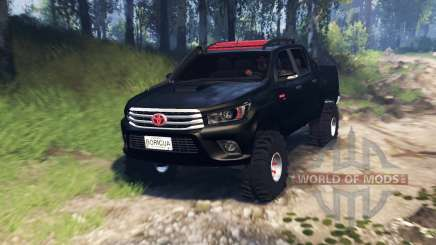 Toyota Hilux Double Cab 2016 v3.0 para Spin Tires