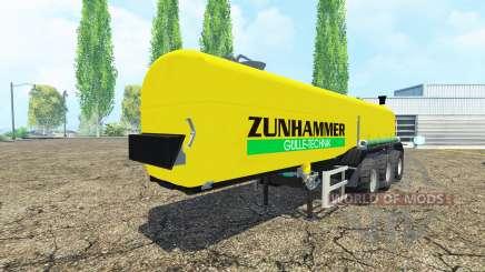 Zunhammer para Farming Simulator 2015