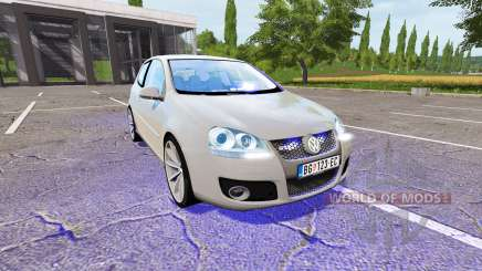 Volkswagen Golf GTI (Typ 1K) Unmarked Police para Farming Simulator 2017
