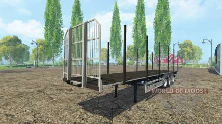 Multiuso semirremolque Fliegl v2.0 para Farming Simulator 2015