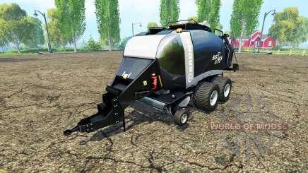 Krone BigPack 1290 black power para Farming Simulator 2015