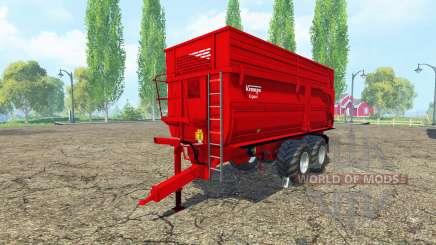 Krampe BBS 650 v1.2 para Farming Simulator 2015