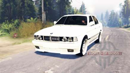 BMW 750Li (E38) v6.0 para Spin Tires