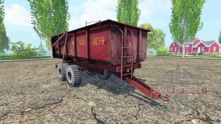 PST-9 v2.0 para Farming Simulator 2015