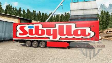 Pieles en el remolque para Euro Truck Simulator 2