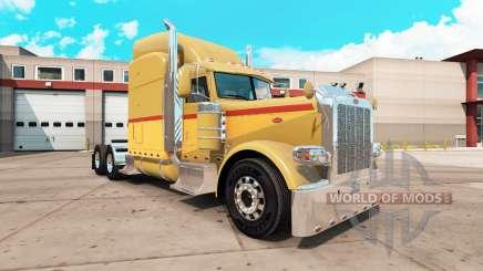 Retro de la piel para el camión Peterbilt 389 para American Truck Simulator