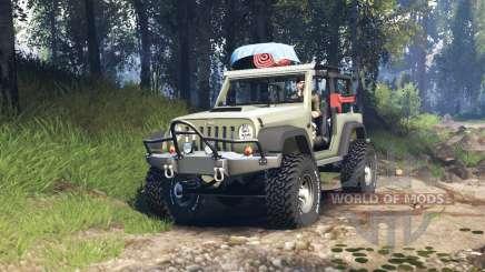 Jeep Wrangler Renegade (JK) v3.0 para Spin Tires