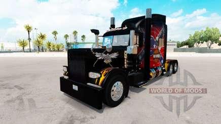 La Leyenda americana de la piel para el camión Peterbilt 389 para American Truck Simulator