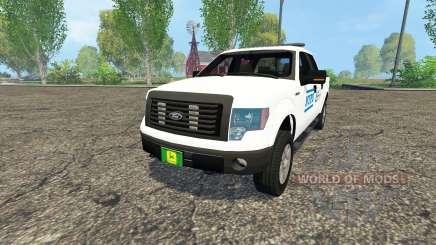 Ford F-150 NYPD para Farming Simulator 2015