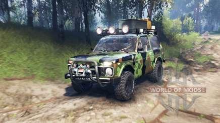 VAZ 2121 Niva Expedición v3.0 para Spin Tires