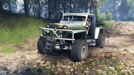 Willys Pickup Crawler 1960 v1.7.5 para Spin Tires
