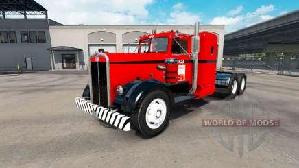La piel de la Costa Oeste en el tractor Kenworth 521 para American Truck Simulator
