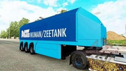 Una colección de skins para el semi-Steklova para Euro Truck Simulator 2