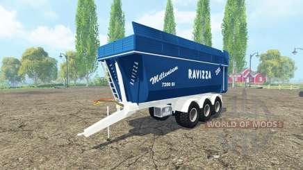 Ravizza Millenium 7200 multicolor para Farming Simulator 2015