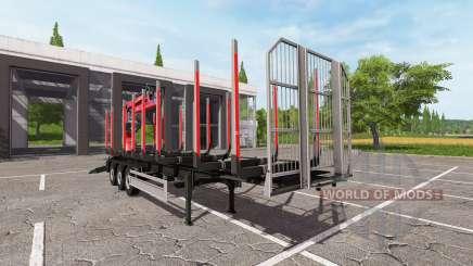 Fliegl Timber v1.3 para Farming Simulator 2017