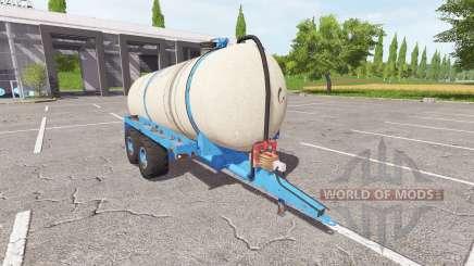 El remolque cisterna para estiércol líquido para Farming Simulator 2017