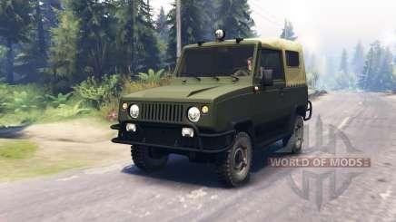 UAZ 3171 1988 para Spin Tires