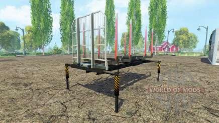 Cuerpo-Fliegl madera para Farming Simulator 2015